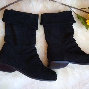 Markon Black Suede Boots
